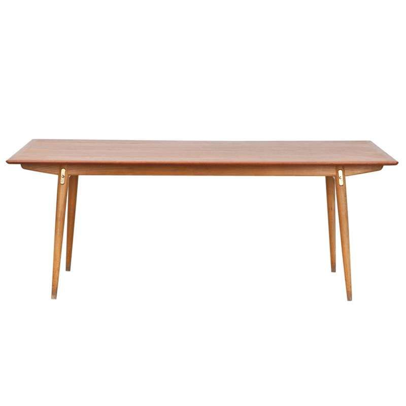 1950s Hans Wegner Extendable Dining Table For Sale At 1stdibs