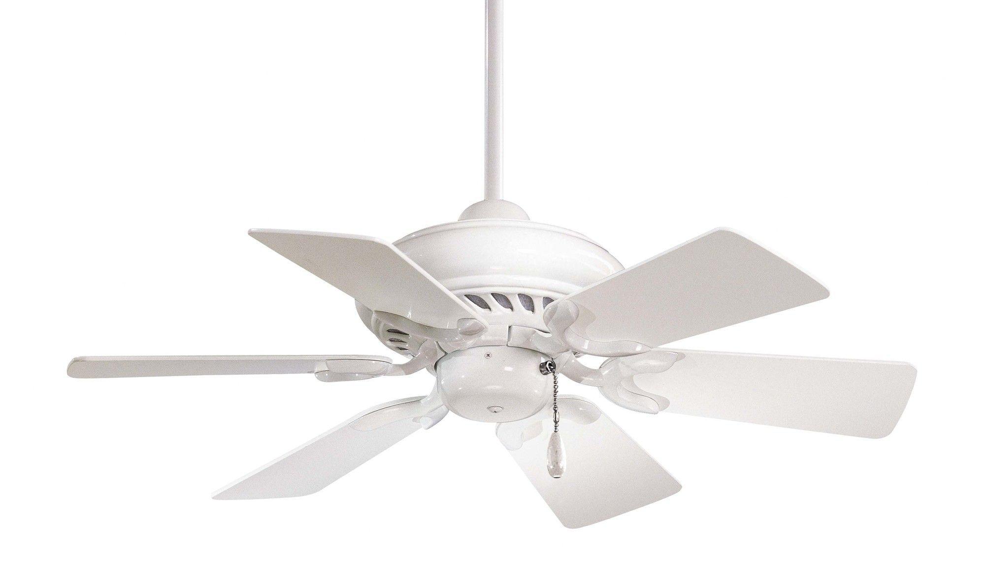 32 Supra 6 Blade Ceiling Fan Ceiling Fan White Ceiling Fan