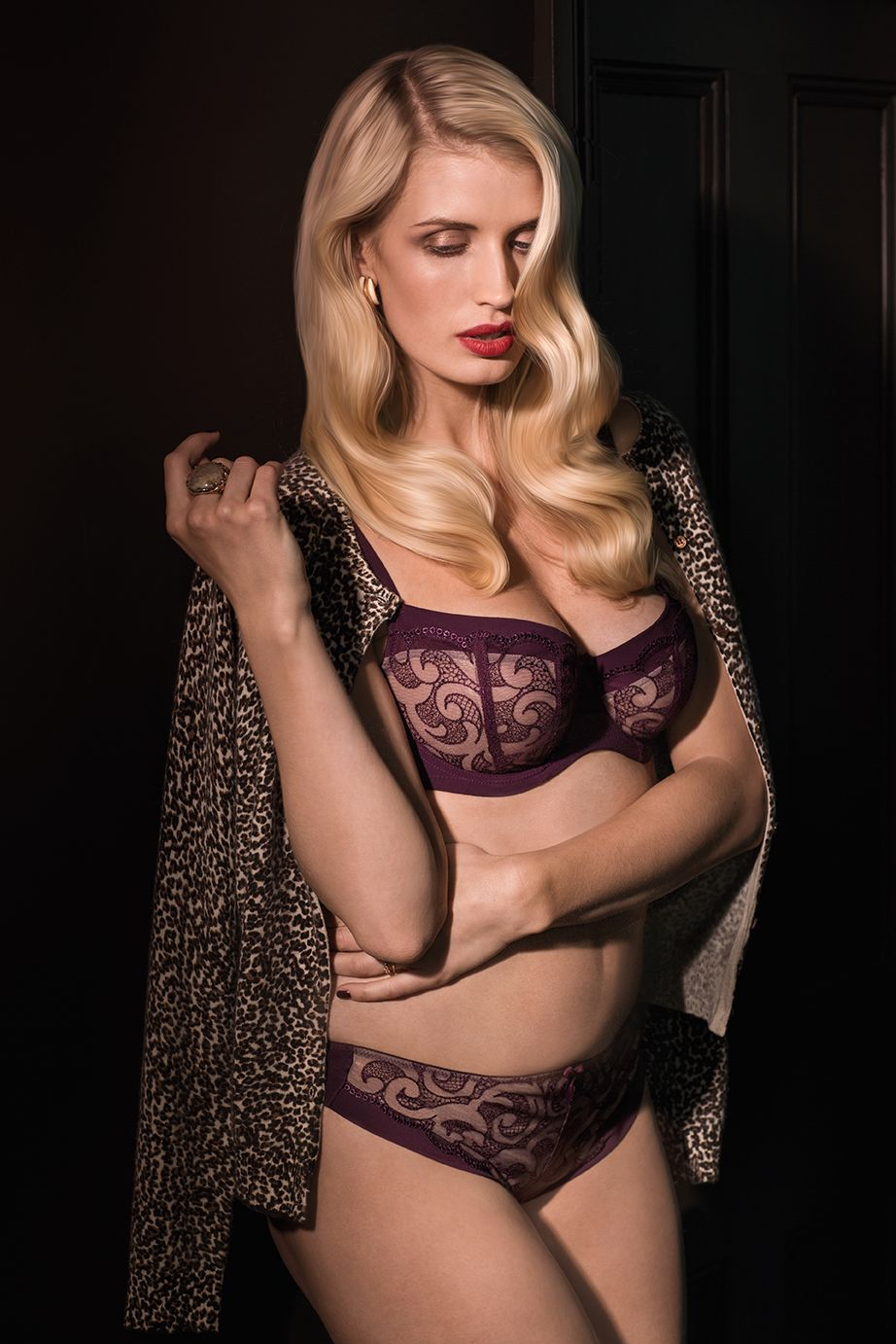 Orla by Panache is an elegant and sexy lace bra that s the perfect gift  this holiday season! Only  79 in store at Posh Lingerie or on  poshlingerie.net! 0750eff2c