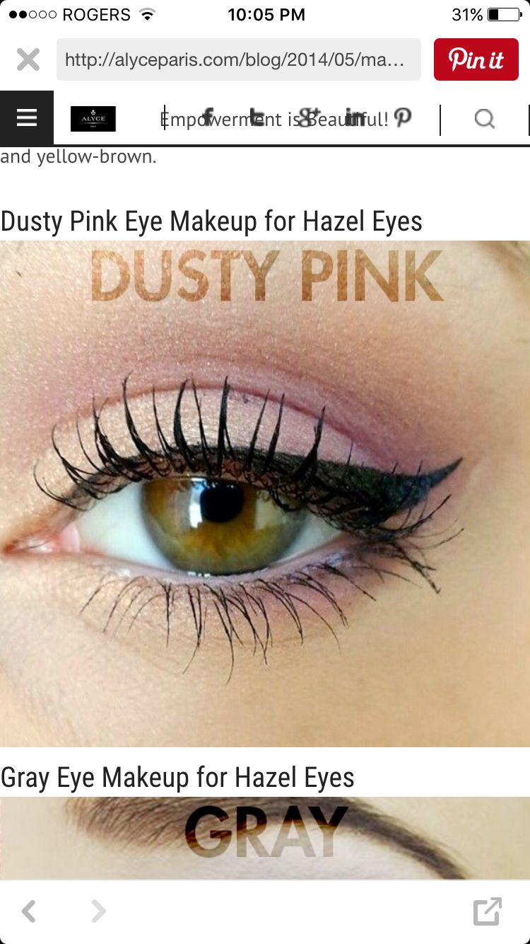 dusty pink eye look for everyday! | makeup and hair | pink