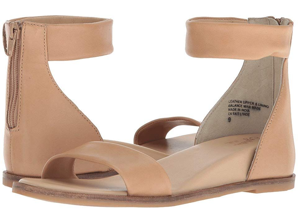 Seychelles Lofty (Vacchetta Leather) Women's Sandals. Set Lofty goals for your trendsetting look with these chic Seychelles wedge sandals! Leather upper material. Back-zip closure. Open-toe silhouette. Leather lining. Stationary leather insole. Wrapped  hidden wedge heel. Synthetic outsole. Imported. Measurements: Heel Height: 1 1 2 in Weight: 9 oz Product measurements were taken using size 7.5  width M. Please note that measu