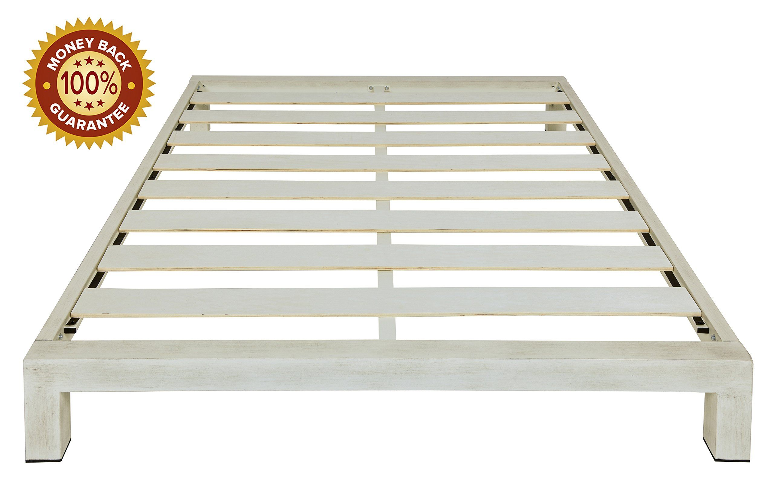 Stella Metal Platform Bed Frame  Modern Finish  Durable