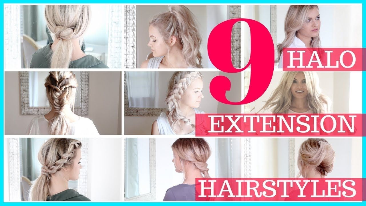 9 halo hair extension hair styles shannon vanfleet compilation halo hair extensions were from sitting pretty halo hair in the color ash blonde 9 one minute tutorials using halo hair extensions baditri Image collections