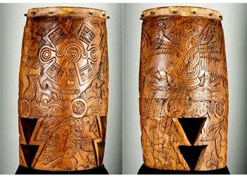 Drums from House of Sun or Eagle