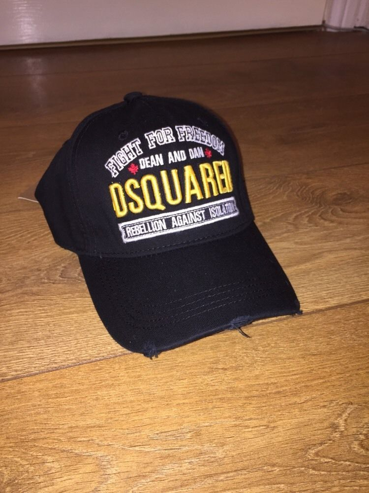 Dsquared2 Cap% Fight For Freedom Black Escolhido a8529ac1428