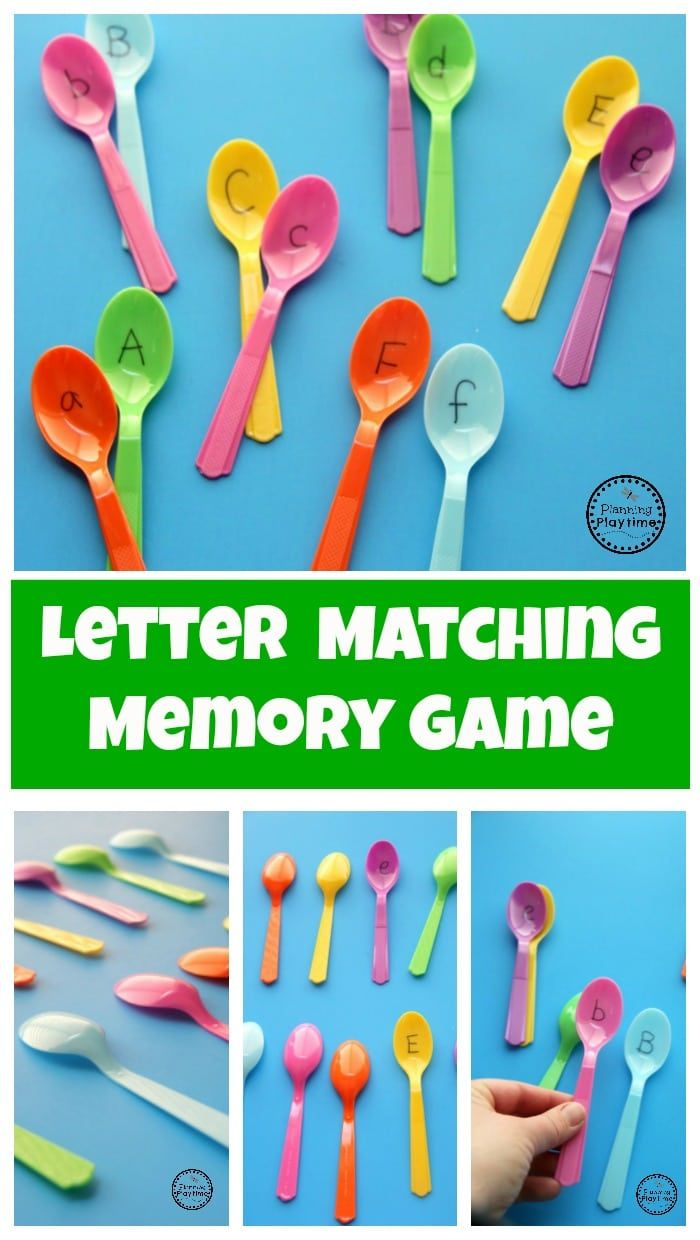 Preschool Letter Matching Game | Gaming, Literacy and Activities
