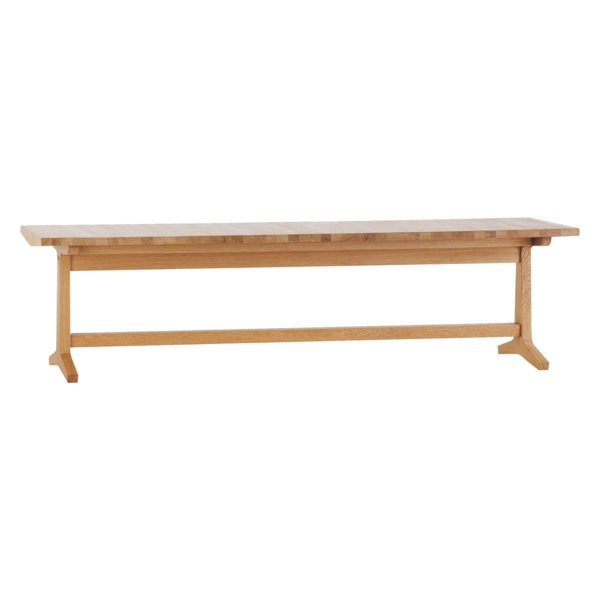 PARKER 4 Seater Oak Dining Bench