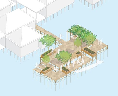 Aecom Careers Student Connections Urban Sos Frontiers 2011 Urban Sos Water Axonometric View Architecture Drawing Planner Design