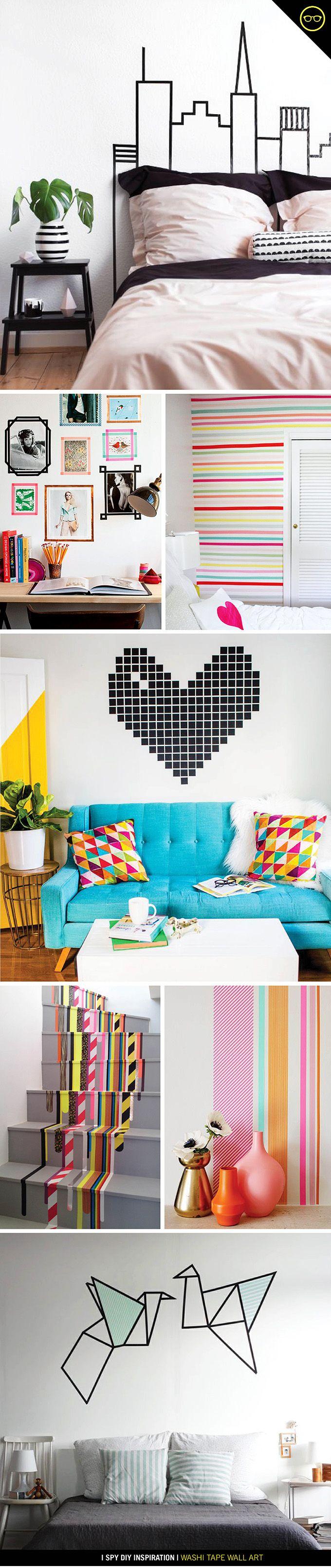 diy inspiration schlafzimmer wandgestaltung und w nde. Black Bedroom Furniture Sets. Home Design Ideas