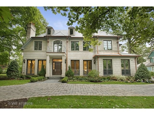 745 Greenwood Ave Glencoe Il 60022 Luxury Homes Exterior