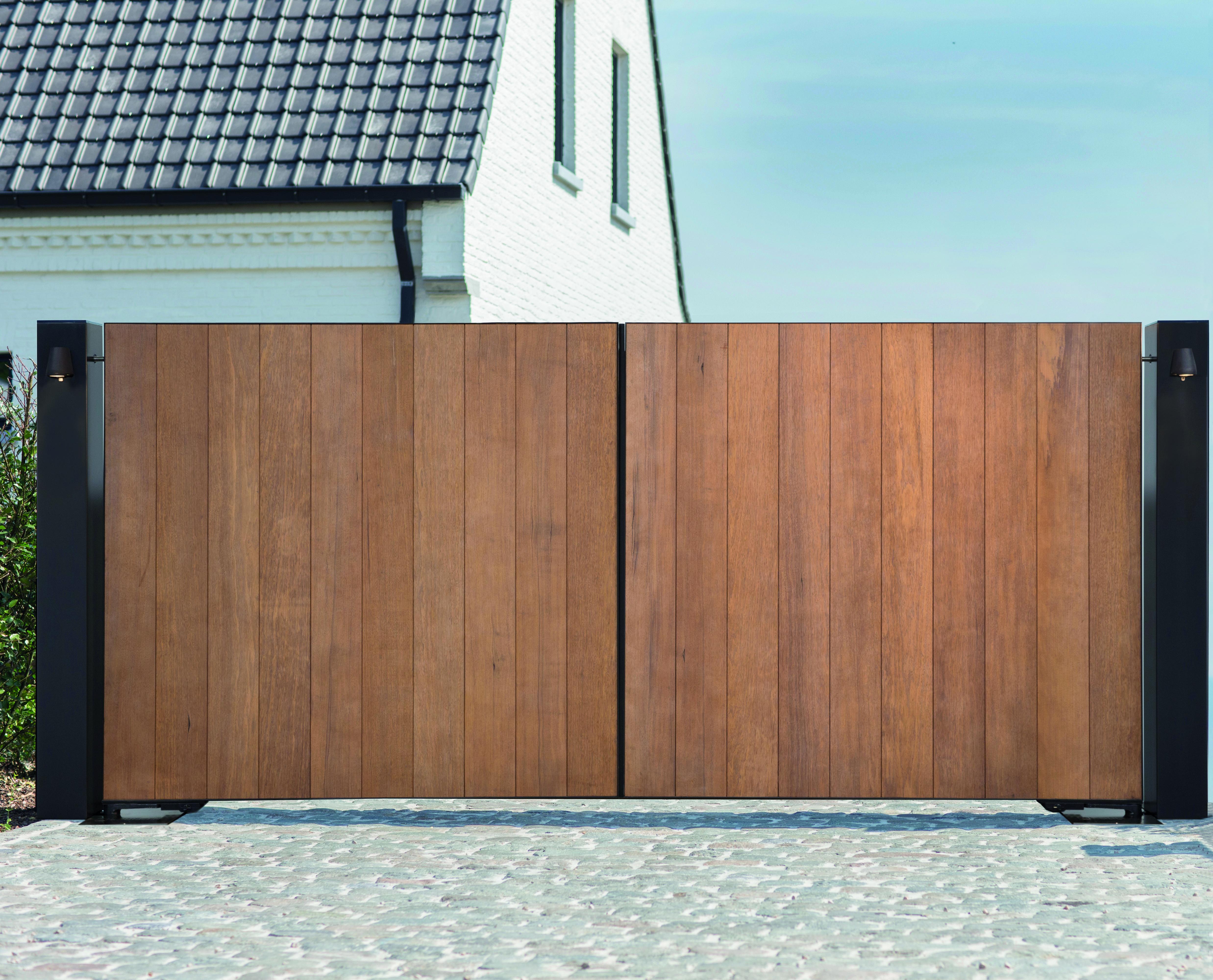 Pouleyn #design #poort #houtenpoort #exclusief#highendpoort #strak