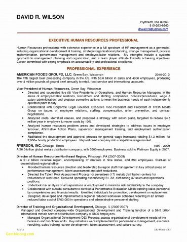 Resume Objectives for Government Jobs Unique Sample Resume for