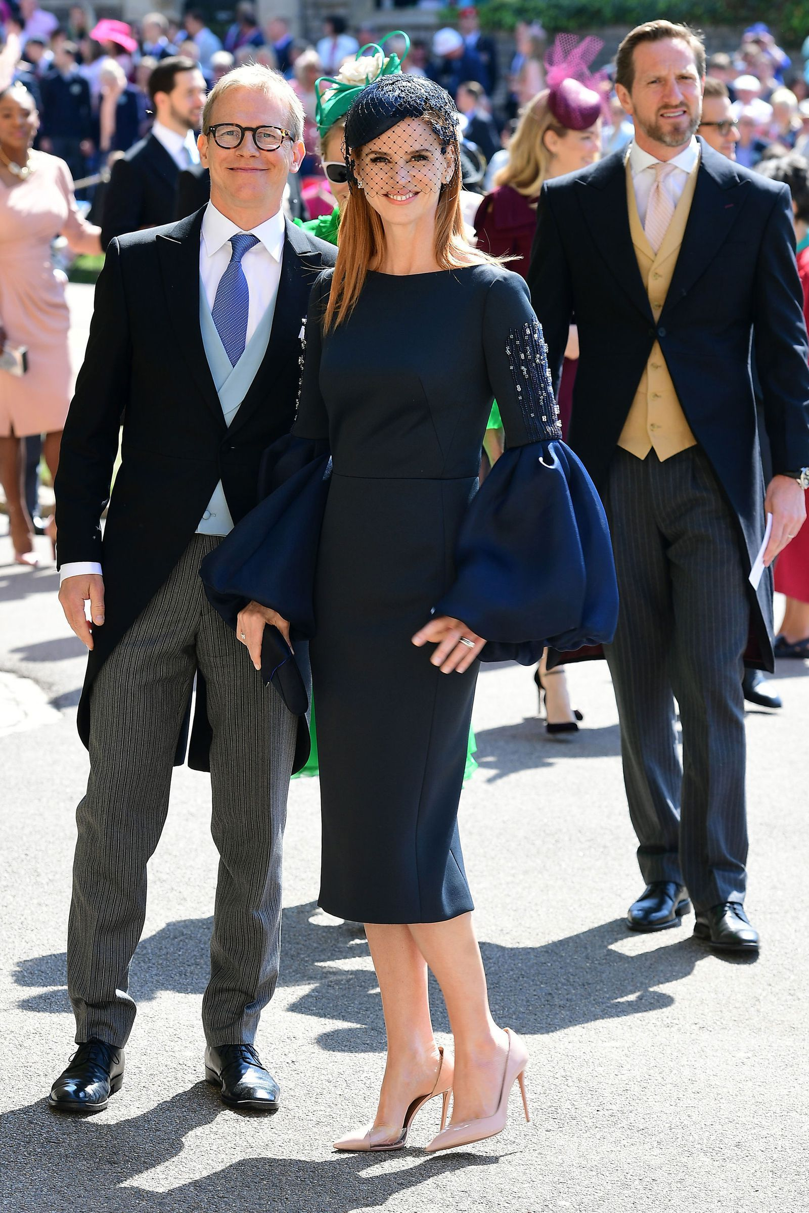 The 10 Best Dressed Guests At The Royal Wedding Royal Wedding Outfits Royal Wedding Guests Outfits Navy Dress Outfits [ 2400 x 1600 Pixel ]