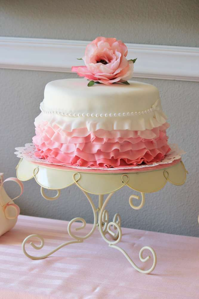 Tea Party Birthday Party Ideas Let Them Eat Cake Cake Party
