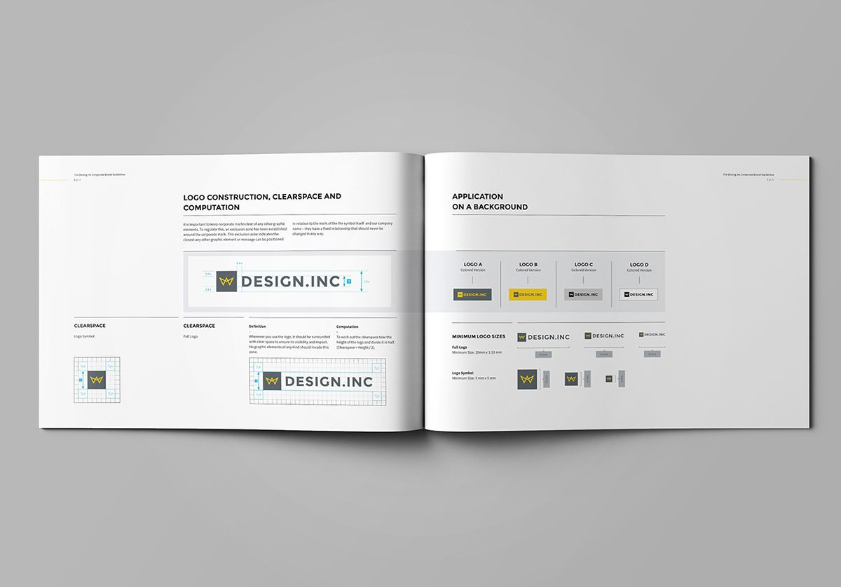 Brand Manual on Behance | Brand Books | Pinterest | Brand manual ...