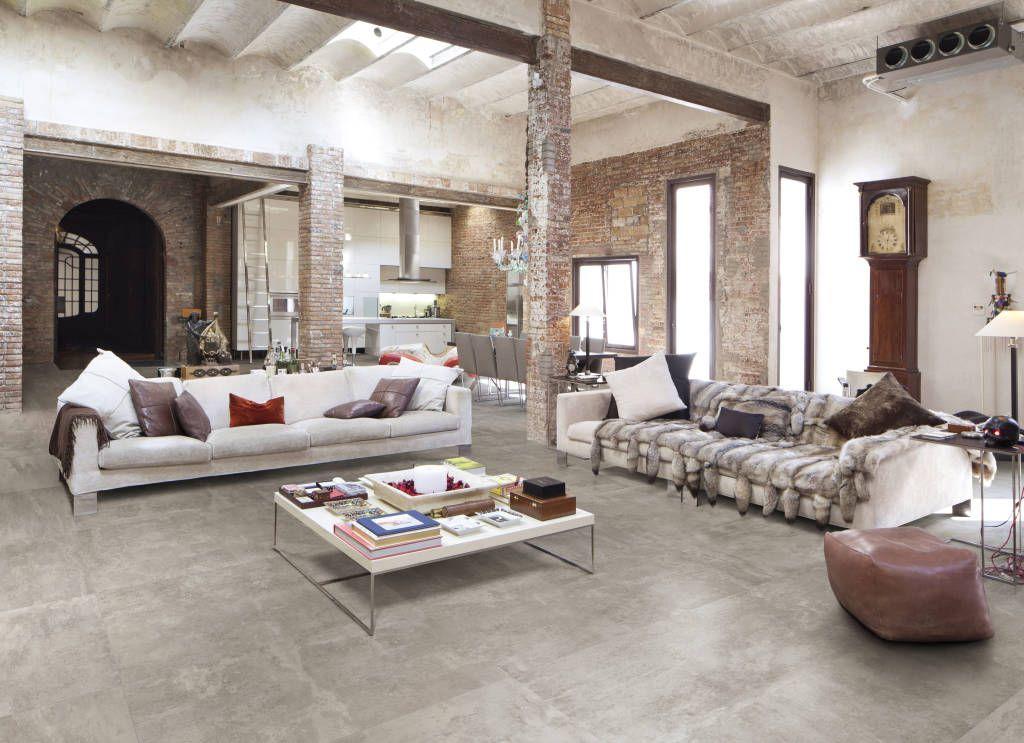 Loft Wohnzimmer in Betonoptik. | Wohnzimmer deluxe | Pinterest ...