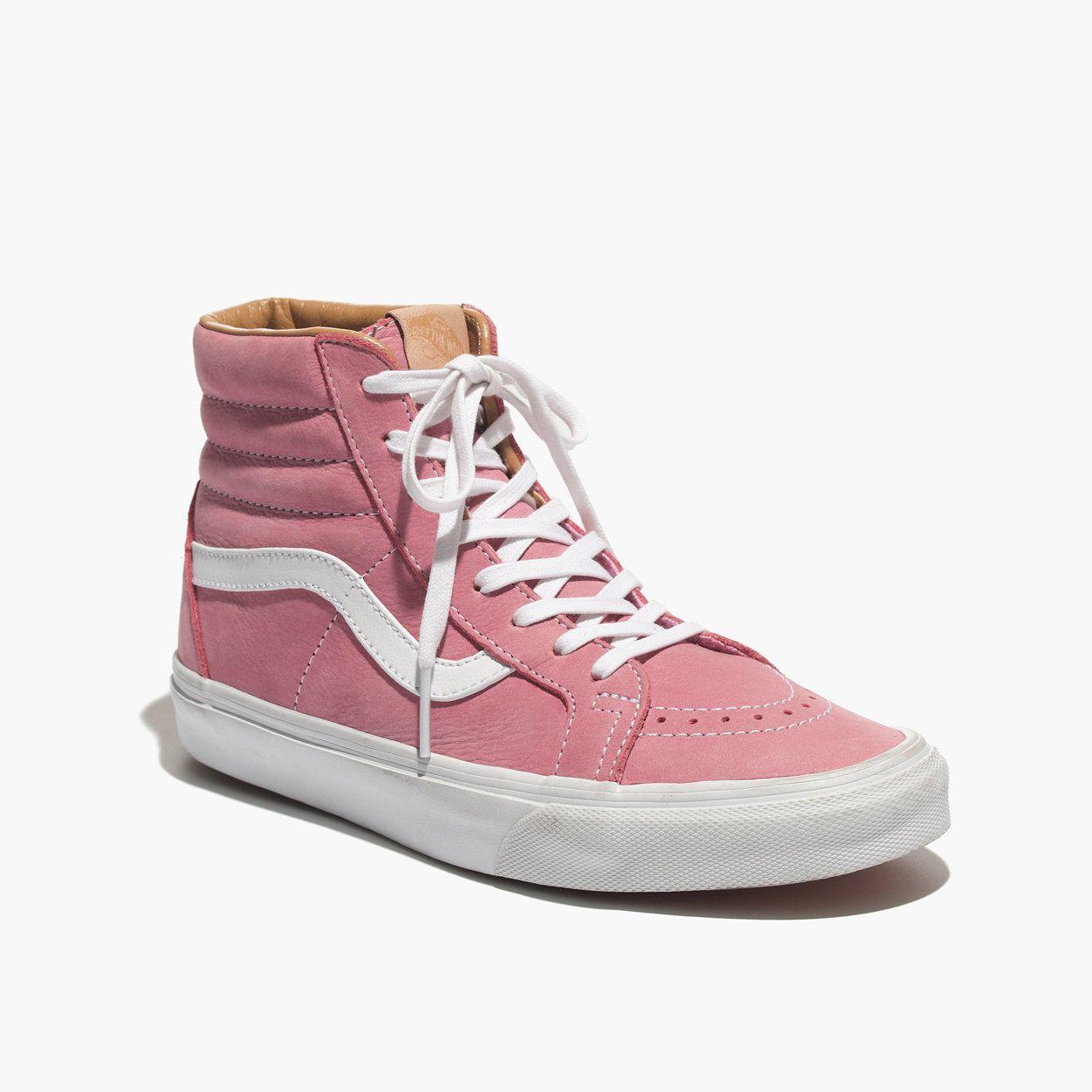 Vans® SK8-Hi Leather High-Top Sneakers