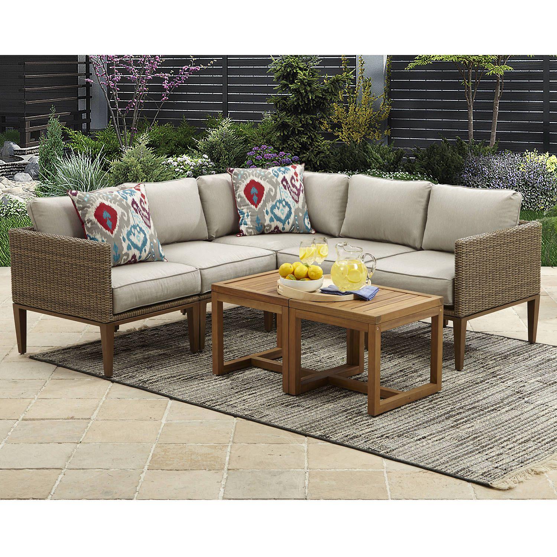 Patio Garden In 2020 Outdoor Furniture Outdoor Sectional Sofa