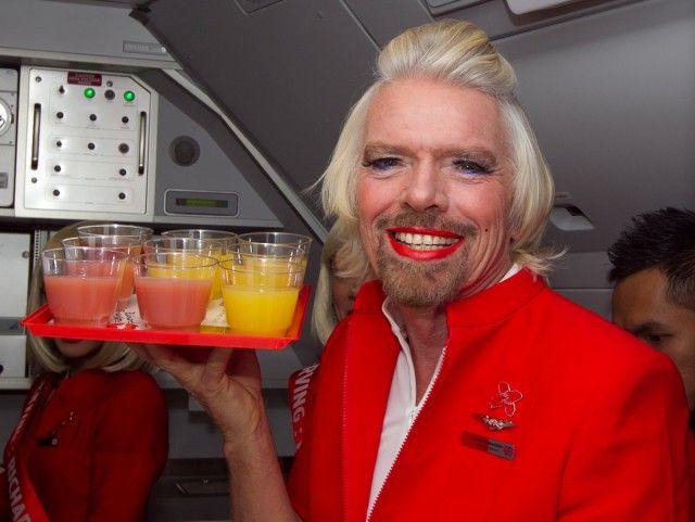 Branson sir atlantic richard virgin