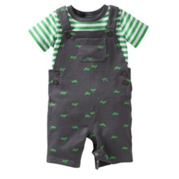 1f55567bb Carter s Turtle Shortalls   Tee Set - Baby