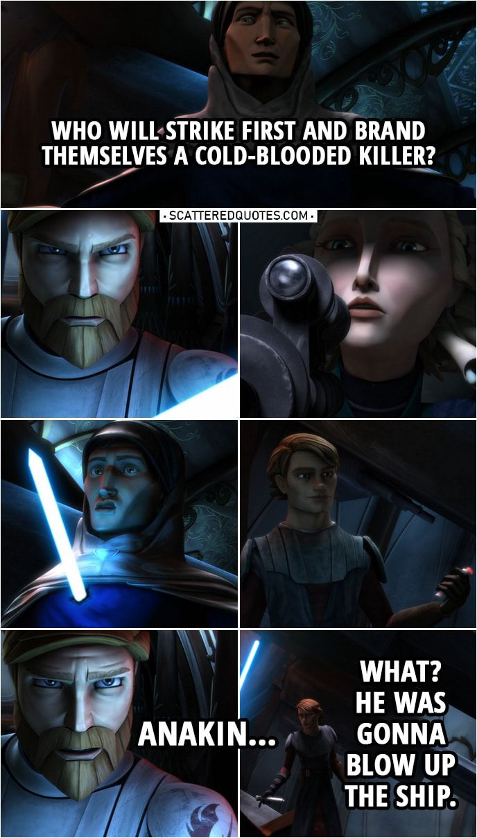 100+ Best 'Star Wars: The Clone Wars' Quotes | Page 2 of 29 | Scattered Quotes