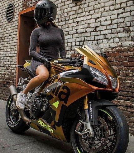 Hot Motorbike Women Riders 2019