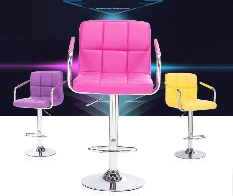 Creative Chair In Bar Household Stool With Armrest Retail