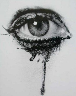 Diy Makeup Remover Eye Art Drawings Cry Drawing