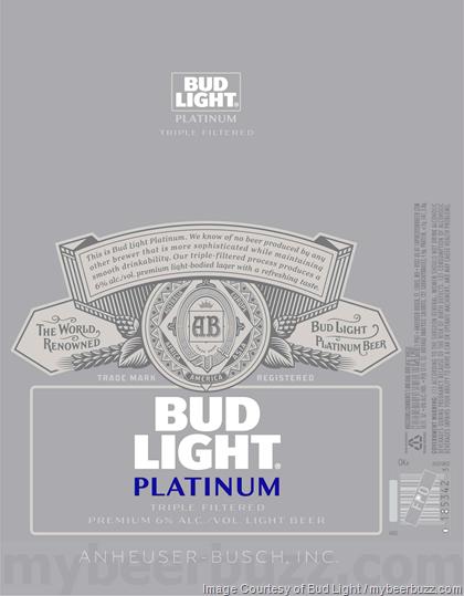 Mybeerbuzz Com Bringing Good Beers Good People Together Bud Light Platinum Returns In New Packaging Bud Light Light Bud