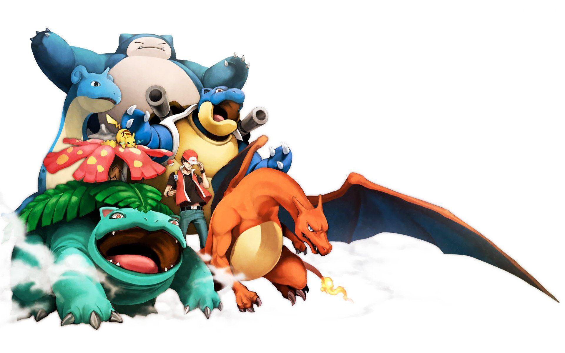 Blastoise Background Hd Pokemon Trainer Red Pokemon Charizard