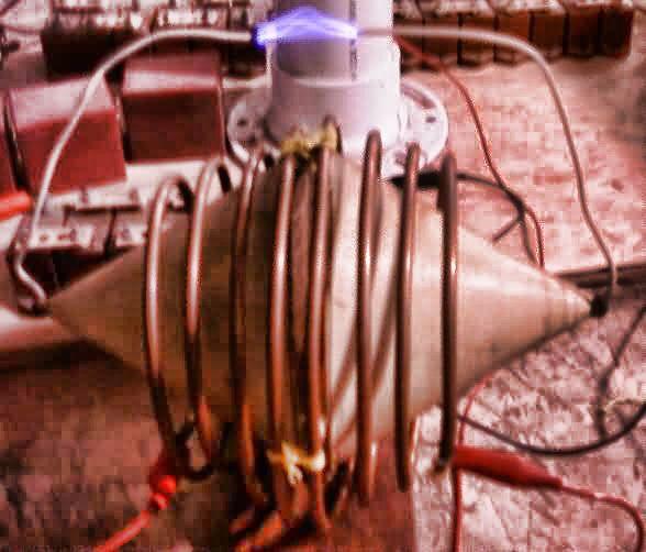 Bipolar Cone Coil By Nikola Tesla Tesla Technology Tesla Coil