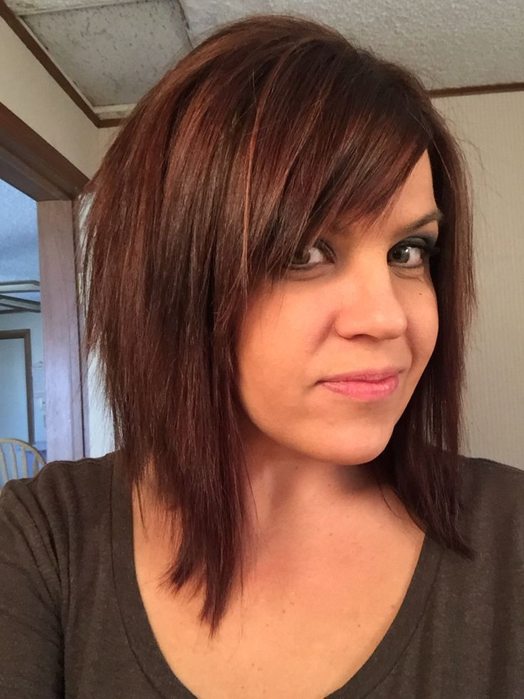 Another lob with bangs hairstyles pinterest lob bangs and another lob with bangs urmus Choice Image