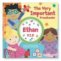 """Perfect gift for your little one starting preschool this year - a personalized """"Very Important Preschooler""""  storybook from @I See Me! Personalized Children's Books! #giftidea"""