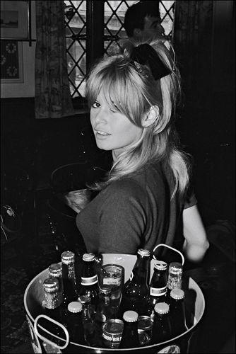 Brigitte Bardot bangs