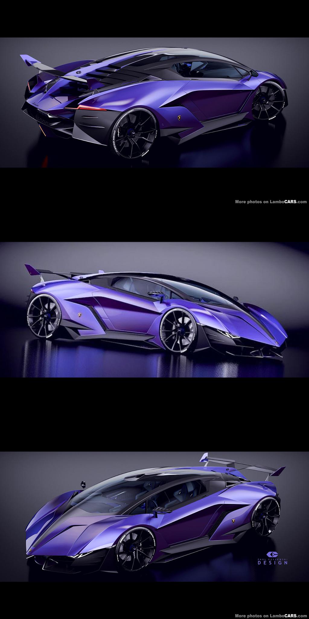 2017 Lamborghini Resonare Concept Car #conceptcars 2017 Lamborghini Resonare Concept Car