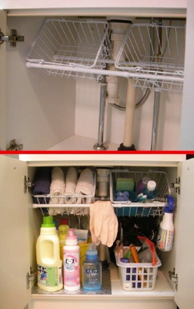 Cabinet Organization Ideas: Clever Ways To Organize Under Your Kitchen Sink - Even If You're on a Budget