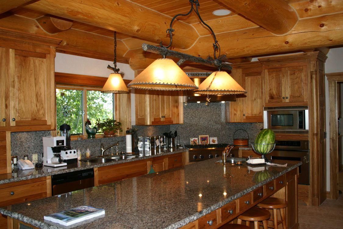 Pin On Log Home Interiors