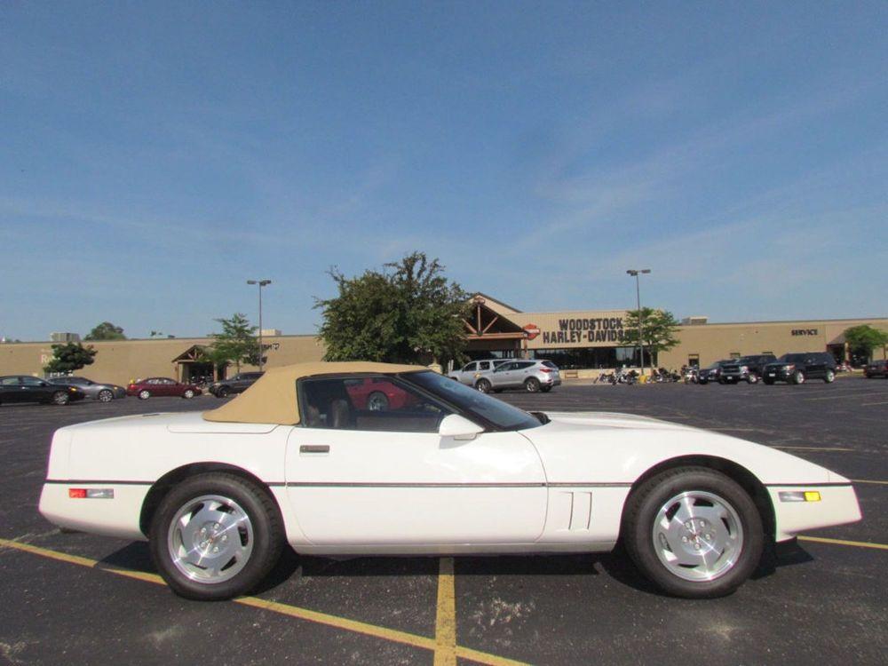 1988 Chevrolet Corvette Convertible 4 Sd Manual Transmission