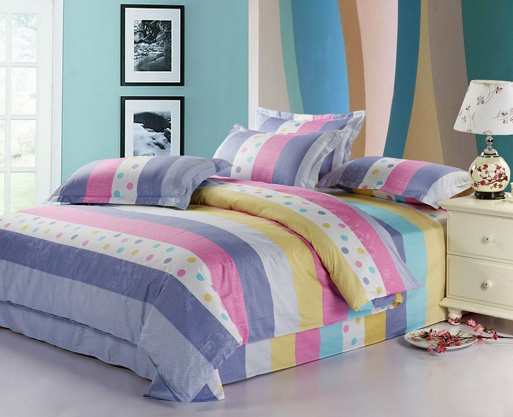 Youth Bedding Sets Girls Kids Bedding Purple Style Kids Bedding