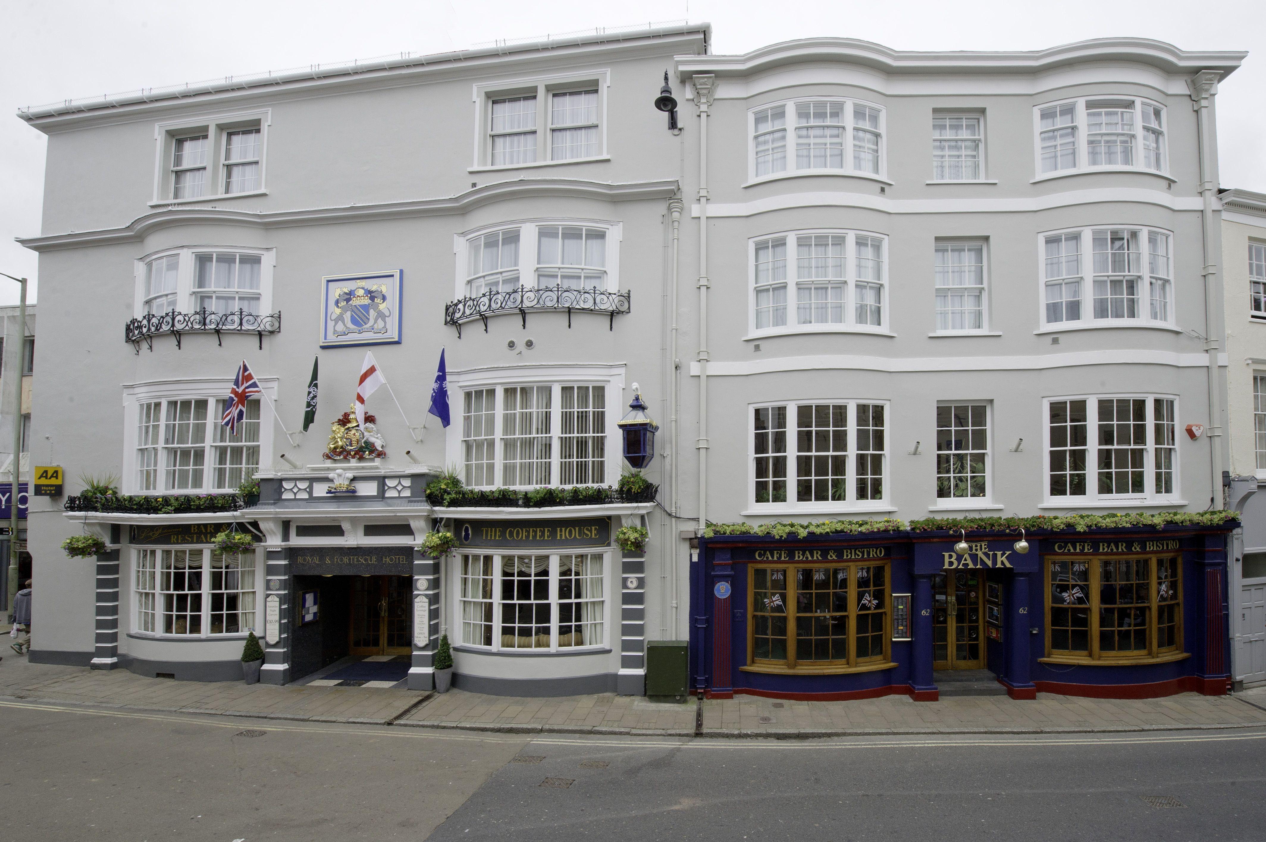 The Royal Fortescue Hotel In Barnstaple Devon Www Royalfortescue Co Uk