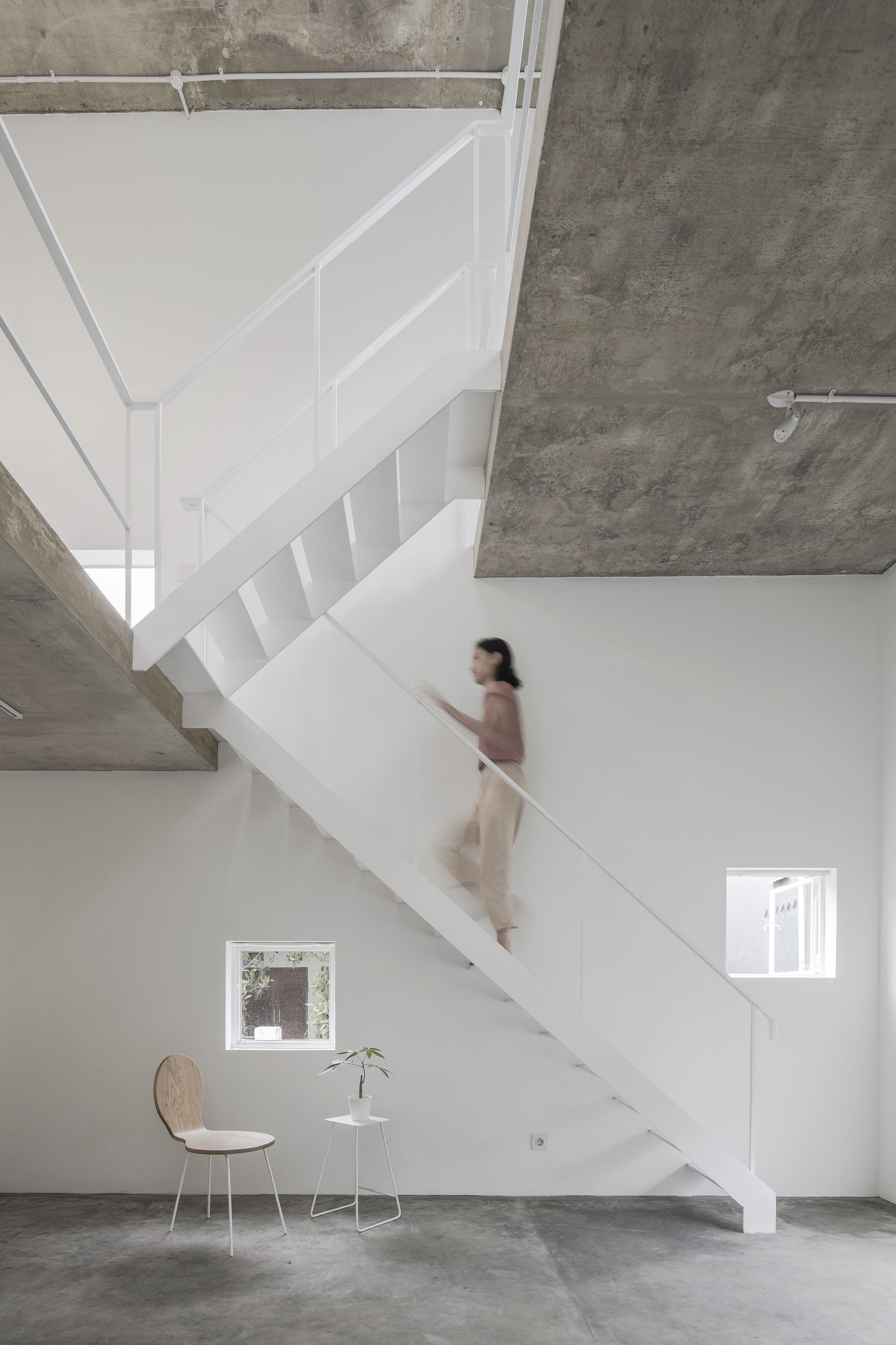 In bandung indonesia   third largest city local firm dua studio has designed the   house  small home that explores living large an area defined also designs without walls interior rh pinterest