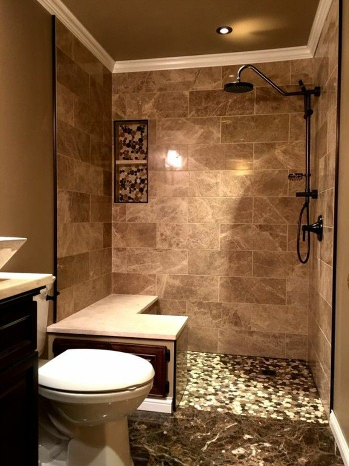Le carrelage beige pour salle de bain - 54 photos de salles de bain - image carrelage salle de bain
