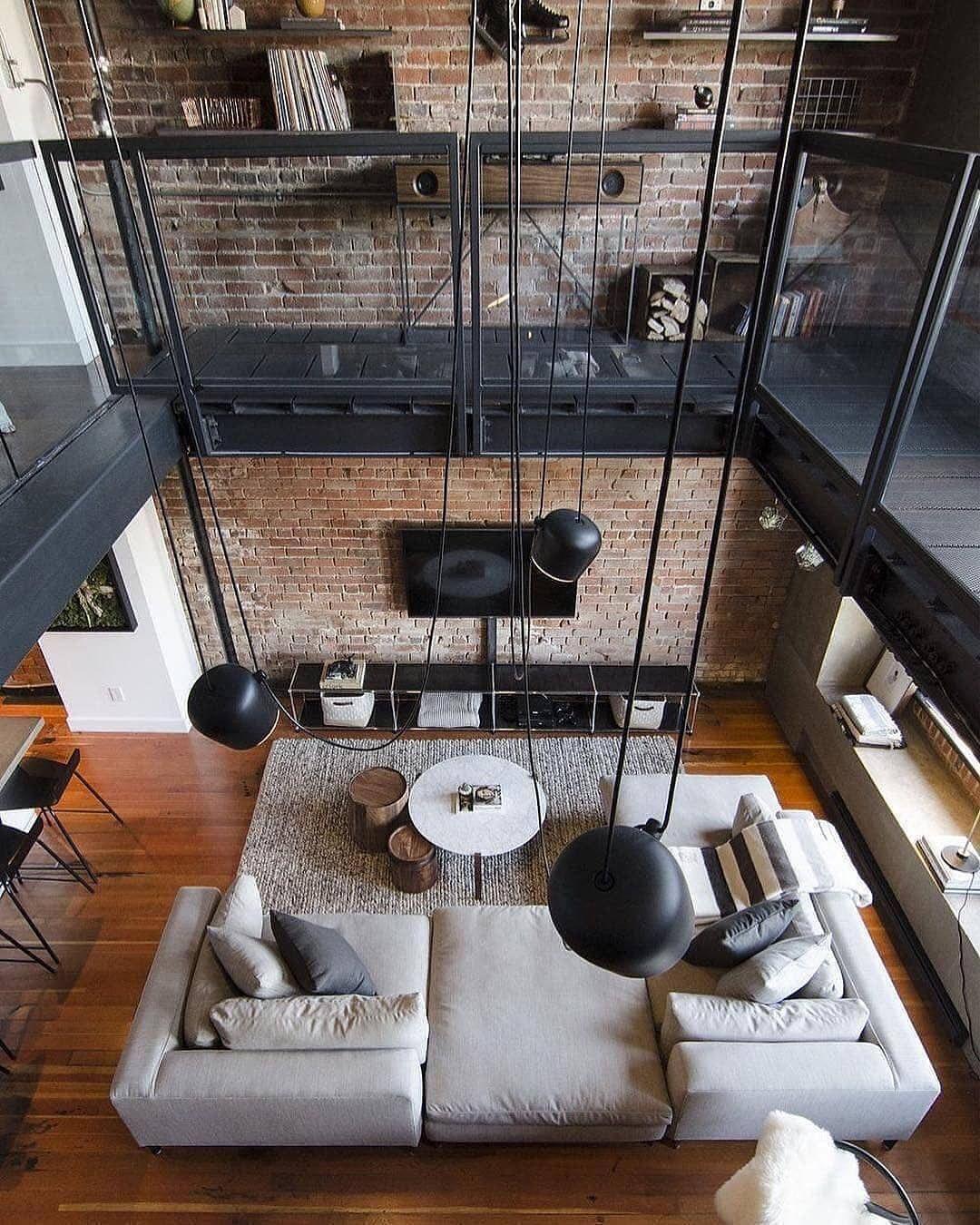 Rate This Interior From 1 10 Loft Inspiration Designed By Kyla Ray Port Quarter Interi Loft Interior Design Interior Architecture Design Minimalism Interior