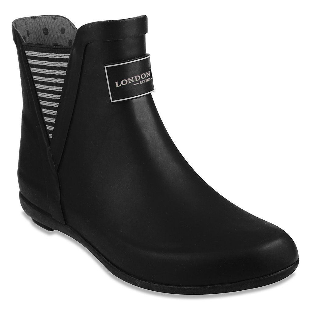 London Fog Piccadilly Women S Rain Boots Stylish Rain