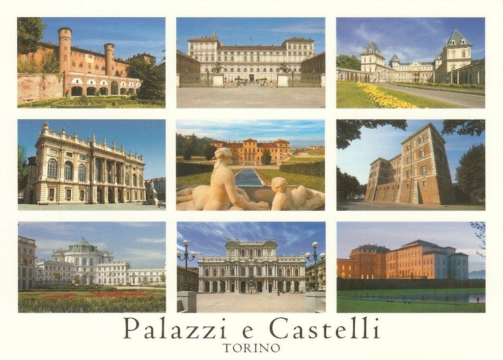 Pk0466 torino palazzi e castelli 1 castello di for Palazzo villa torino