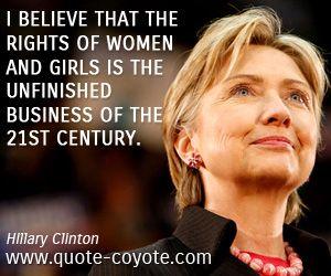 Hillary Clinton Feminista Pinterest