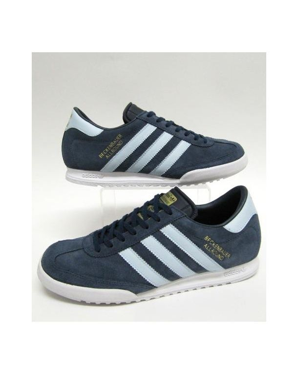 hot sale online c43d3 60033 Adidas Beckenbauer Argentina C W Blue And White, Navy Blue, Adidas  Beckenbauer Trainers