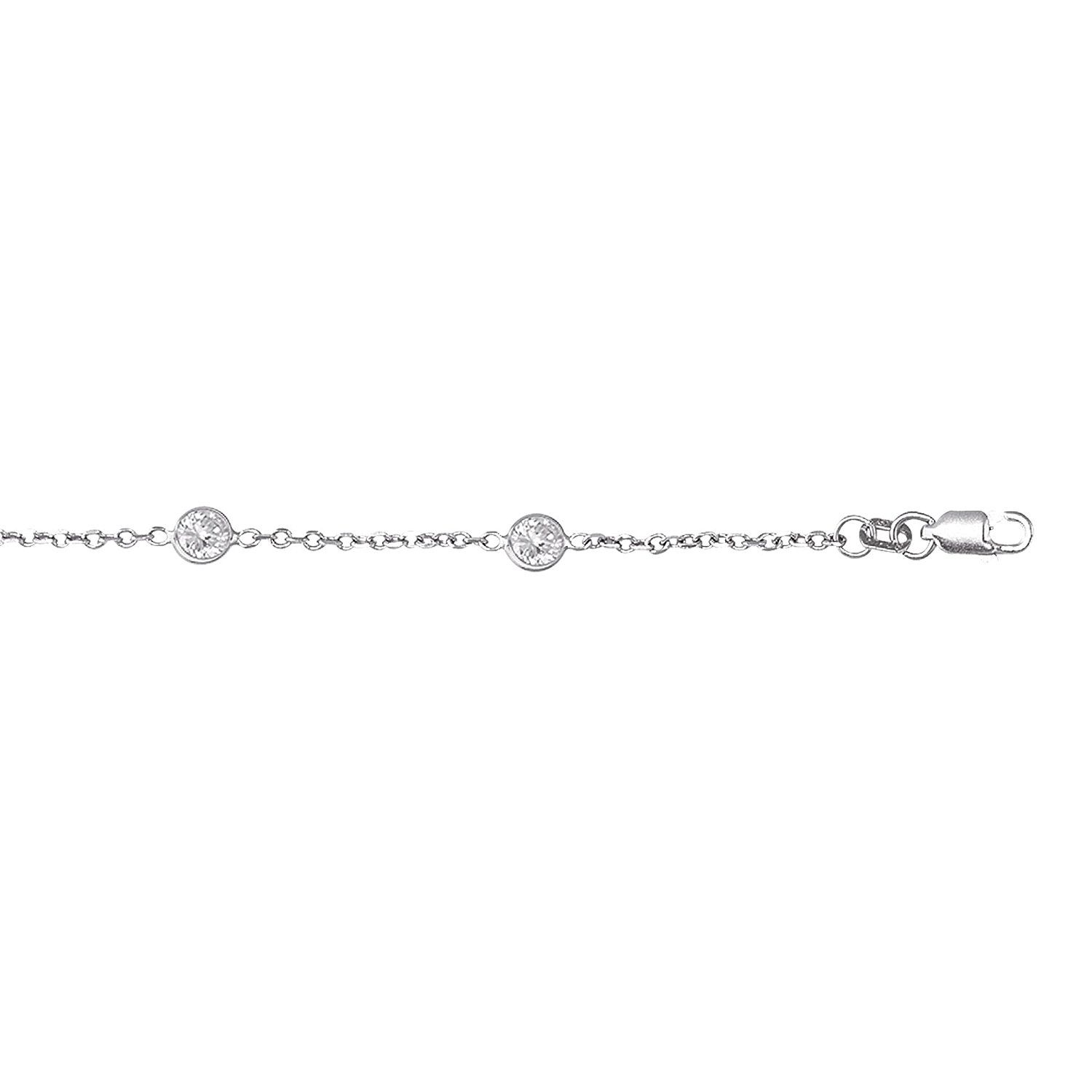 simple cubic il listing zirconia small gold diamond zoom anklet fullxfull cz jssm