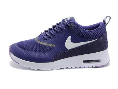online store 1ee48 6c33f Original Nike Air Max Thea Femme Chaussures Pourpre Blanche France Vente