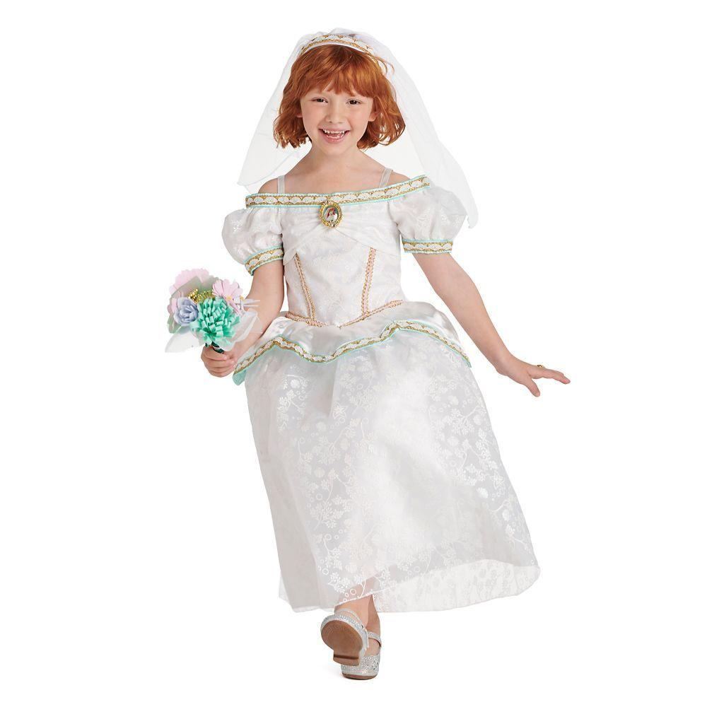 Ariel wedding costume set the little mermaid
